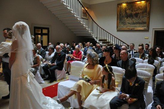 Macdonald Linden Hall Golf & Country Club: the wedding service