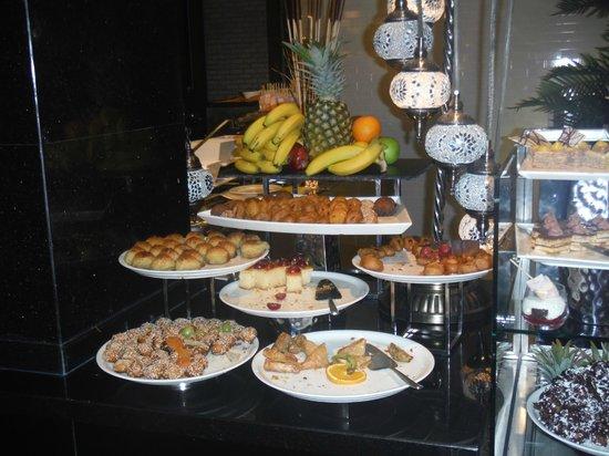 Rixos Bab Al Bahr : buffet desert