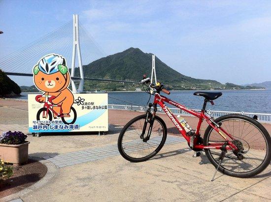 Michi-no-Eki Imabari City Tatara Shimanami Park : 景色良い休憩所