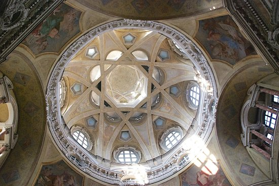 Real Chiesa di San Lorenzo: Cúpula y linterna de S. Lorenzo