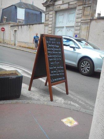Brasserie Double Sens : Carte