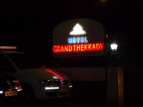 Grand Thekkady: Front view