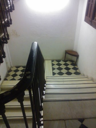 Ramblas by Pillow: The Lovely Marble Stairwell leading to the hotel