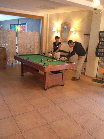 Hotel La Fregate : Billard