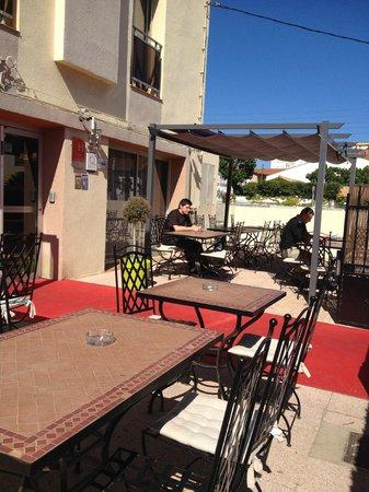 Hotel La Fregate: Terrasse Hôte L aFrégate