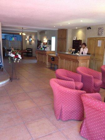 Hotel La Fregate : Réception Hôtel La Frégate