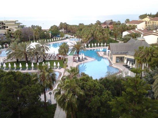 Barut Arum: view from balcony