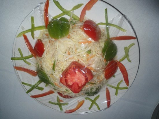 Hotel Meritoria : Good salads