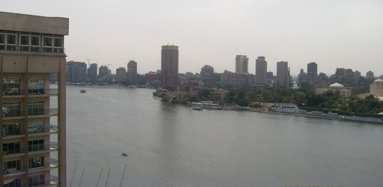InterContinental Cairo Semiramis : Nile view
