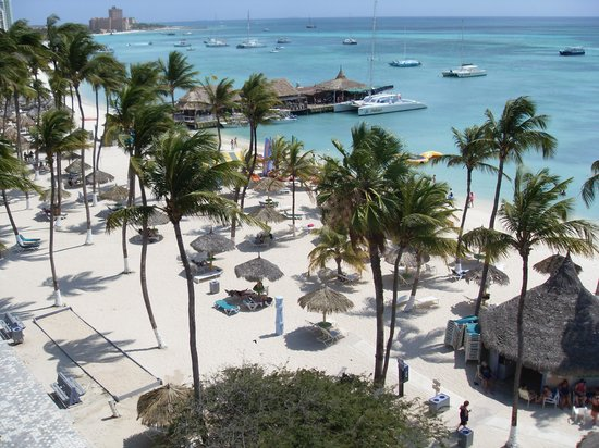 Holiday Inn Resort Aruba - Beach Resort & Casino: Room with a view !