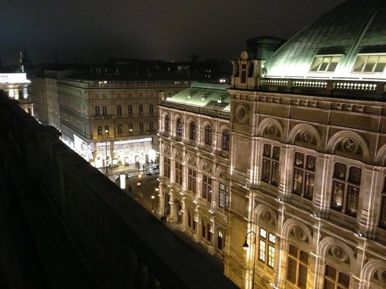Hotel Sacher Wien: view to the Opera