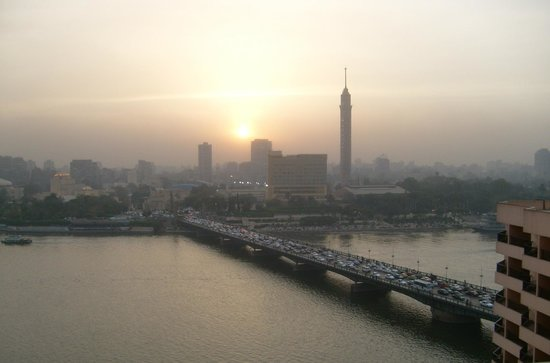 InterContinental Cairo Semiramis : Sun Set