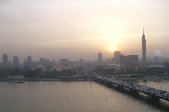 InterContinental Cairo Semiramis: Sun set