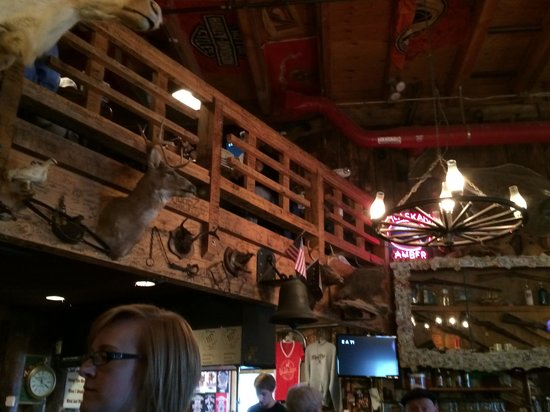 Red Dog Saloon: Red Dog's Decor