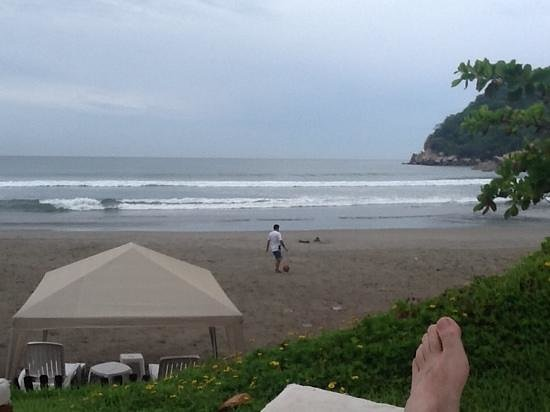 Quinta Real Acapulco: view from the pool