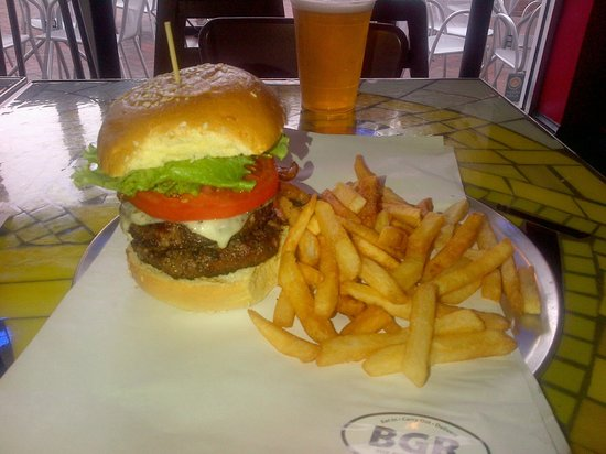 The Burger Joint : This will satisfy any carnivore!