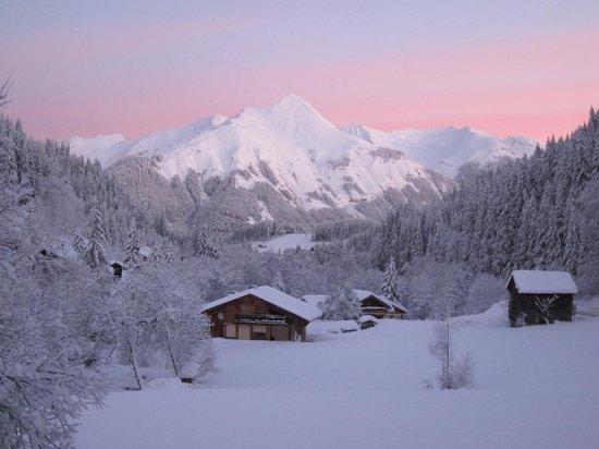 Chalet Bluebell Les Gets : Winter wonderland