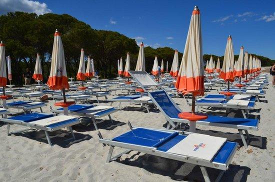 Agrustos Village: spiaggia