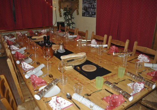 Chalet Bluebell Les Gets : Celebrate Christmas with us!