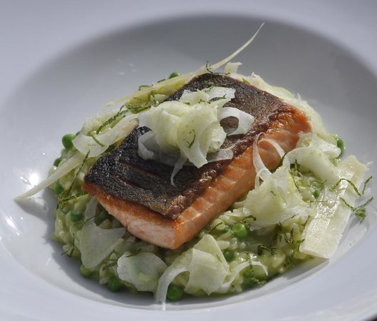 Chalet Bluebell Les Gets : Delicious dishes from our Michelin trained chef