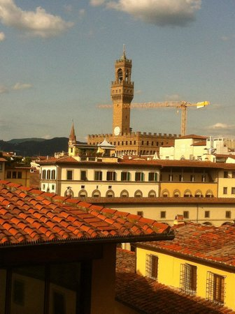 Pitti Palace al Ponte Vecchio: A room with a view