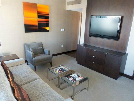 Vdara Hotel & Spa : Lounge (City Corner Suite)
