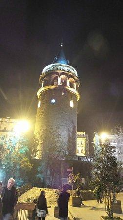 Erboy Hotel: башня галата