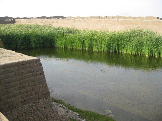 Chan Chan: ceremonial reservoir