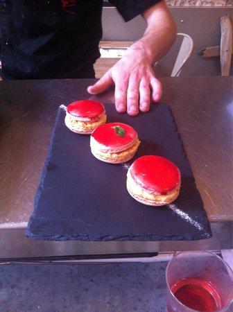 Baleak : Dessert du jour : macaron napper