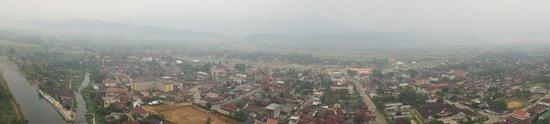 Balloons Over Vang Vieng : An amazing view of Vang Vieng
