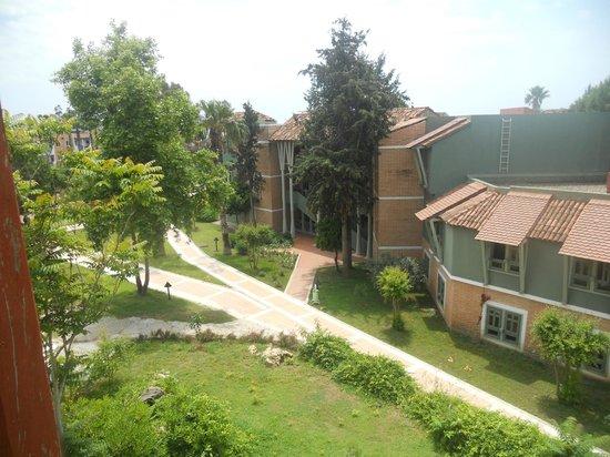 Club Mega Saray: вид с балкона