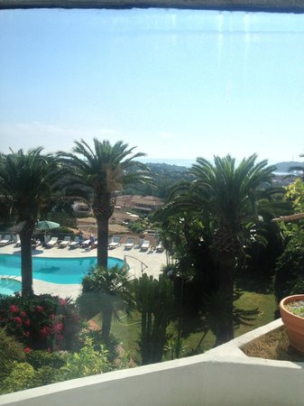 Balocco Hotel: View from swiming pool