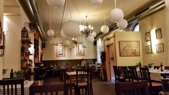 Griechische Taverna-Avli