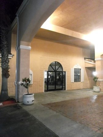 Super 8 South Padre Island : Reception door.