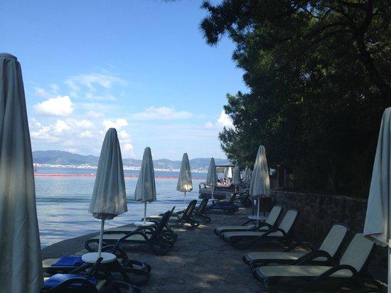 TUI Sensimar Marmaris Imperial Hotel : Beach area