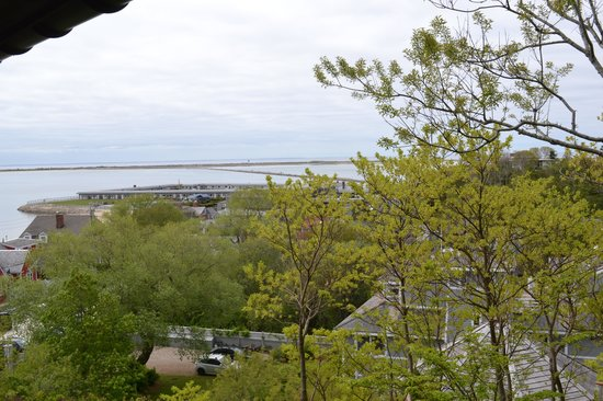 Land's End Inn : View From Tiger Lily Balcony