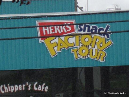Herr's Snack Factory Tour : Herr Factory Tour