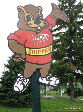 Herr's Snack Factory Tour: Chipper