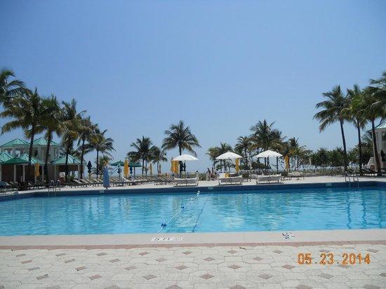 Sea View Hotel: Vista de la pileta