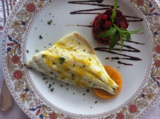 Villa Cheta Elite Hotel Restaurant: Filetto di orata