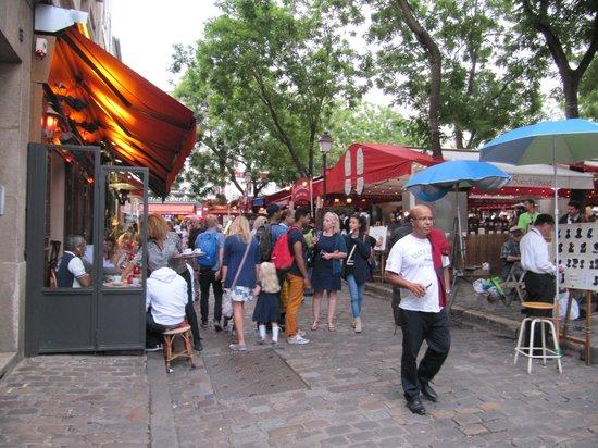 Place du Tertre: площадь