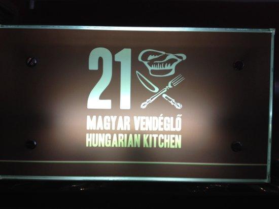 21 Hungarian Kitchen: 21