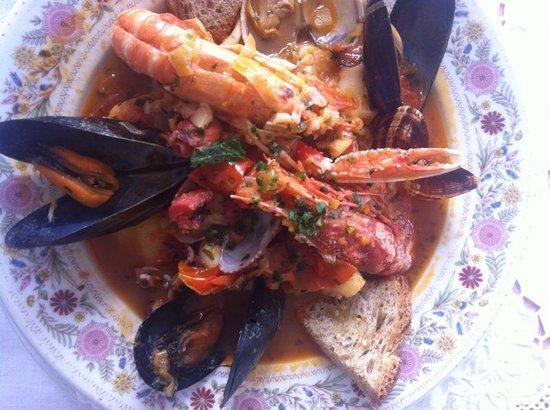 """Villa Cheta Elite Hotel Restaurant: """"Brodetto"""" di pesce"""