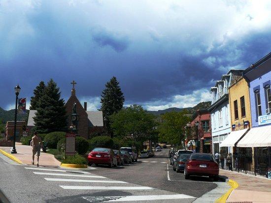 Downtown Manitou Springs.