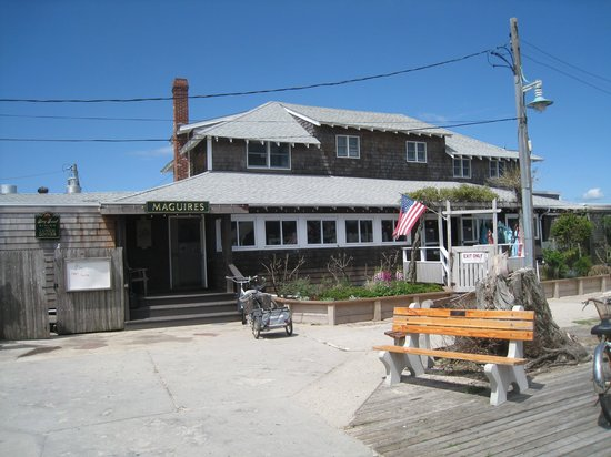 Maguire's Bay Front Restaurant : Macguire's first and foremost!