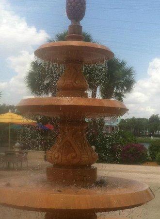Disneys Caribbean Beach Resort Fountain