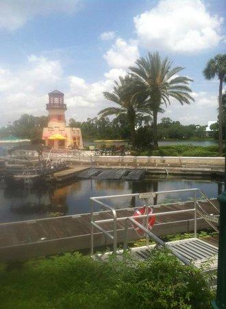 Disneys Caribbean Beach Resort Boating