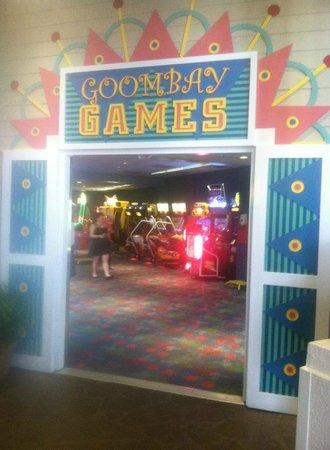 Disneys Caribbean Beach Resort Arcade