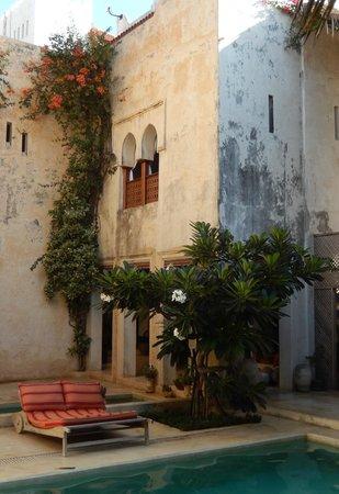 Lamu House Hotel: Main pool courtyard