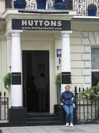 Huttons Hotel: ingresso